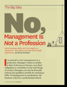 HBR 10 Must Reads