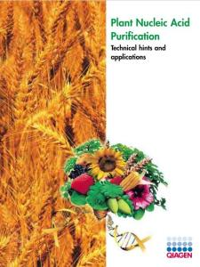 Plant Nucleic Acid Purification - Uniscience(PDF-28)