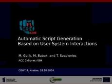 Automatic Script Generation Based on User-System Interactions…