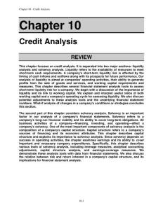 Financial statement analysis (tenth edition) solution for Ch_10