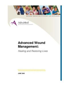 innovation of advance wound care