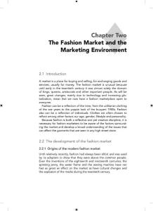 The Fashion Market and the Marketing Environment(PDF-43)