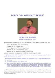 Topology without tears&#..