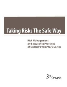 Risk Management and Insurance Practices of Ontario