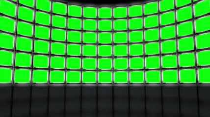 Video Wall Background Animation绿布抠像脚本