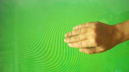 Hand gestures, fist, caressing green screen绿布抠像素材