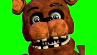 FNaF 2 FreddyDeath \- Green Screen HD Chroma key_HD
