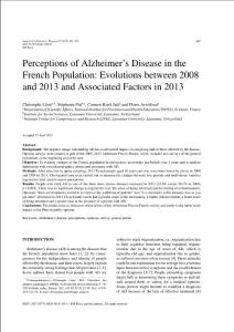 Perceptions of Alzheime..