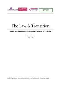 The Law   Transition - ..