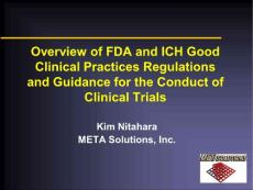 Overview of FDA-ICH R..