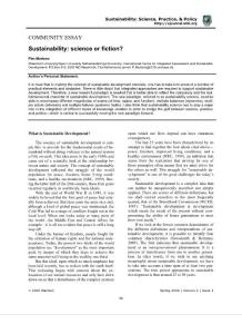 sspp sustainability science or fiction:sspp可持续性科学或小说