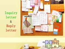 inquiry letter and reply letter