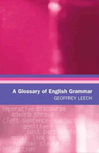 A Glossary of English Grammar (2006)