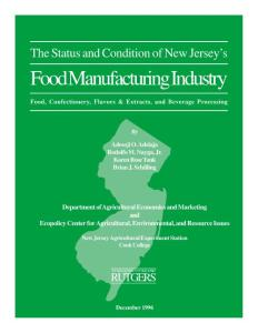 Food Manufacturing Industry