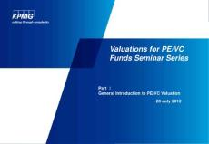KPMG Private Equity Valuation Training