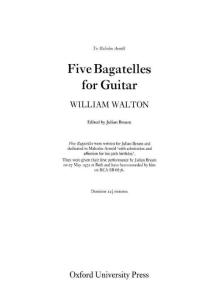 Five Bagatelles (Walton William) (guitar)