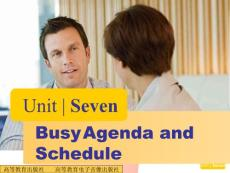 Unit7 Busy Agenda and Schedule