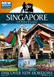 2010 Singapore brochure from New Horizons Holidays