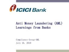 Anti Money Laundering (AML) Learnings from Banks:反洗钱(AML)借鉴银行