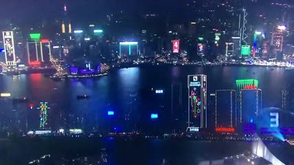 4、2016 香港新年維港煙火盛會 Happy New Year Fireworks in Hong Kong 2016